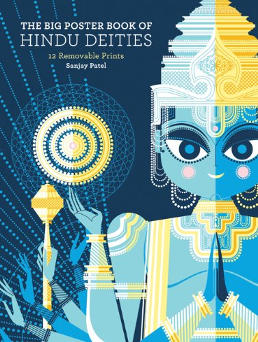 The Big Poster Book of Hindu Deities: 12 Removable -