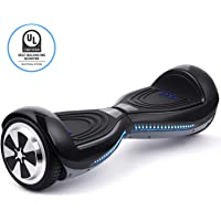 """EYCI Hoverboard Electric Self Balancing Scooter UL 2272 Certified Two Smart 7"""" Wheel Scooter with 250W Dual-Motor Ideal Birthday for Kids & Adults"""