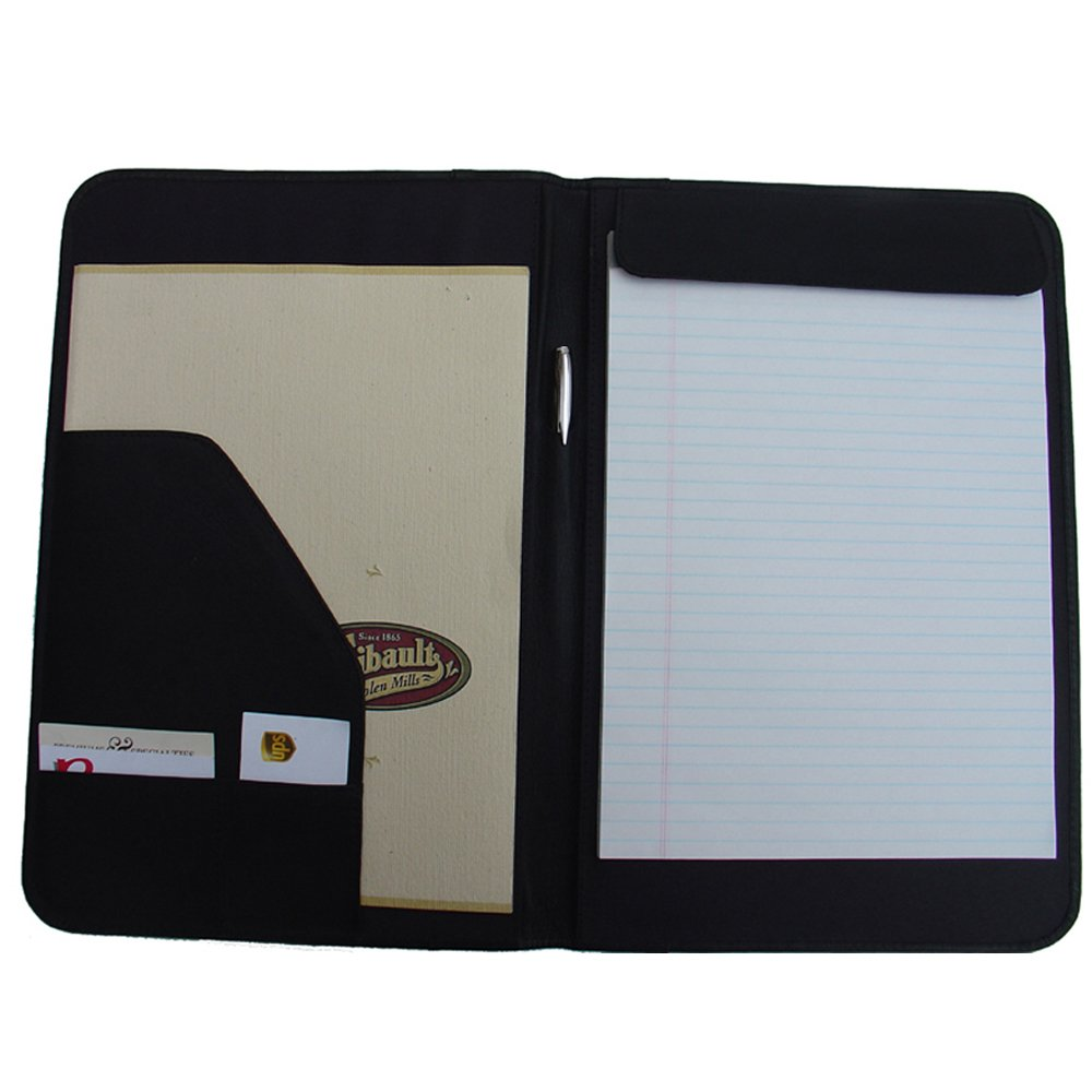 Piel Leather Legal-Size Open Notepad One Size Saddle