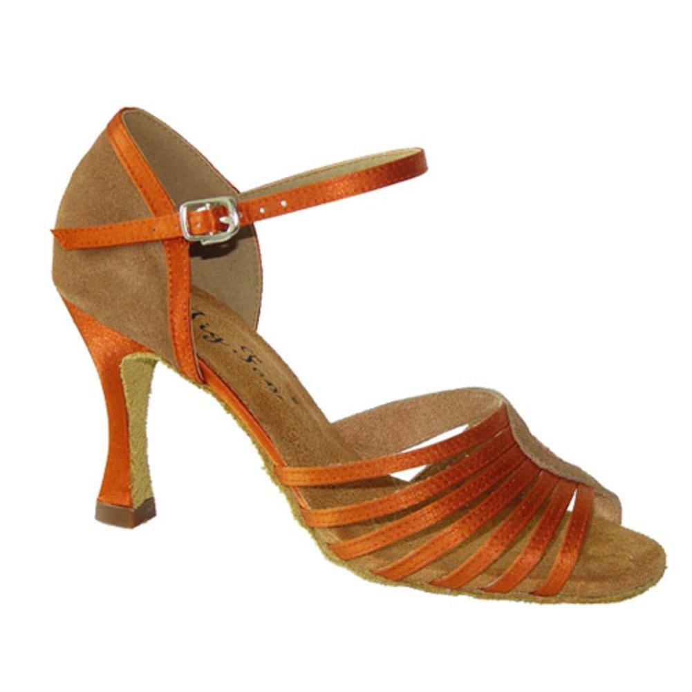 Lady Erwachsene Latin Latin Latin Samba Tanzschuhe  Rhumba Ballroom Dance schuhe  weiche Modern Dance Schuhe am Ende des 2325b9