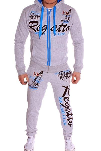 Sportanzug Regatta Design 100% Baumwolle Komplett Anzug (S, Reg.Grau)   Amazon.de  Bekleidung adebe69401