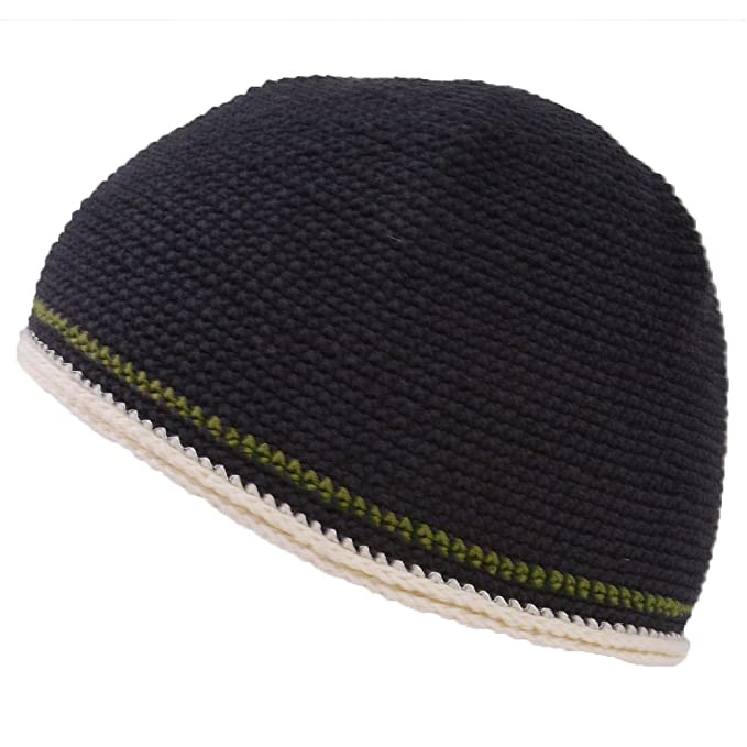 983cb060ba8c30 Casualbox CHARM Mens Skull Cap Cotton Kufi Beanie Hand Made Knitted Hat  Elastic Tight Japanese Womens