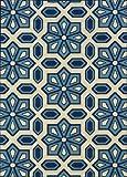 Oriental Weavers 969W6 Caspian Outdoor/Indoor Area Rug, 2-Feet 5-Inch by 4-Feet 5-Inch