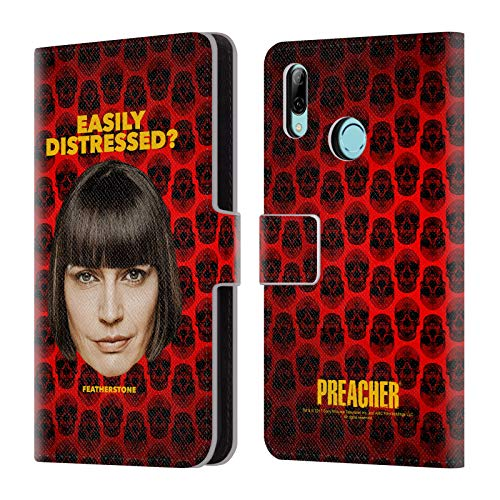 Official Preacher Featherstone Season 3 Character Art Leather Book Wallet Case Cover Compatible for Huawei P Smart (2019)