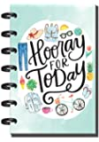 Create 365 Undated Mini Happy Planner, Me and My Big Ideas 4.62in x 7in Planner, Hooray for Today