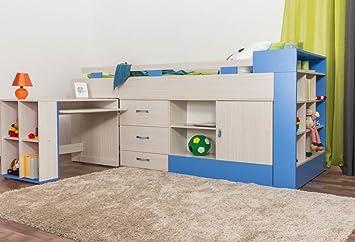 Hochbett Holz Weiß Kinder : Ikea hochbett mit rutsche best kinder