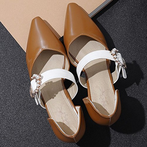 Big Melady Zapatos Lit D Mujer Orsay Tamanos Moda Brown qXrEUXxwBp