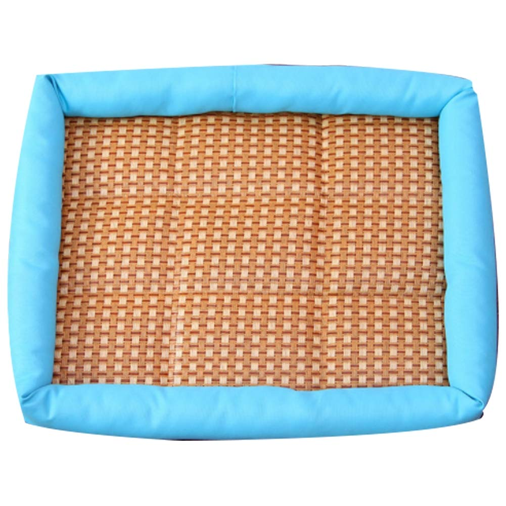 bluee Large bluee Large Cat House Ice Pad Pet Dog Cooling Mat with Breathable for Dogs Pets Puppy