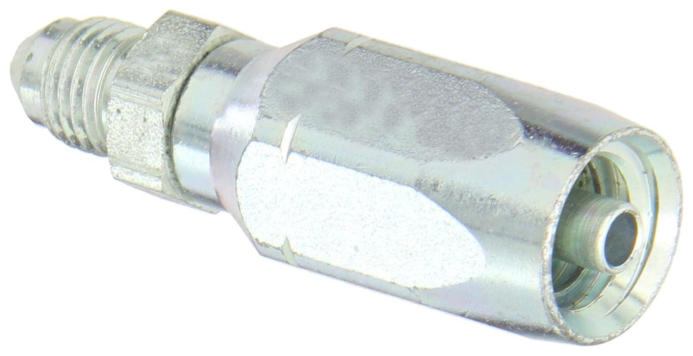 AISI//SAE 12L14 Carbon Steel 1//4 Tube Size 1//4 Hose ID 1//4 Tube Size EATON Weatherhead 10404N-504 Male Rigid Fitting SAE 37 Degree 1//4 Hose ID