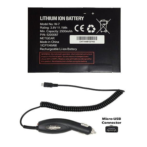 Amazon Generic World Star Replacement Battery W 7 2930mah 38v