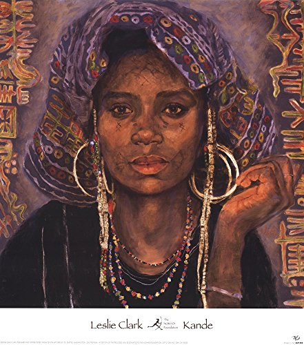 Kande by Leslie Clark Art Print, 20 x 22 inches