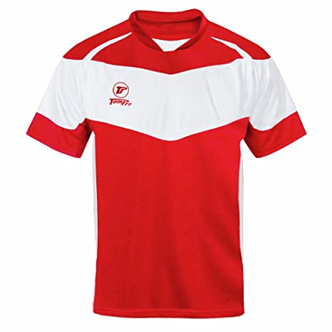 tompro Premier Max camiseta de fútbol rojo/blanco Talla: mediana