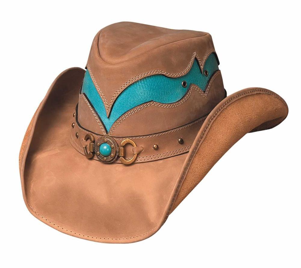 Bullhide Hats Cascade Range Top Grain Leather (Large)