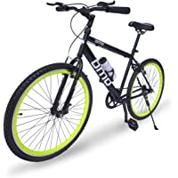 Omobikes Model-1.0 Lightweight |13kg| Fast Light Weight Hybrid Cycle with Alloy Rims, Anti Rust Frame and Toffee Chola MS Accidental and Theft Insurance