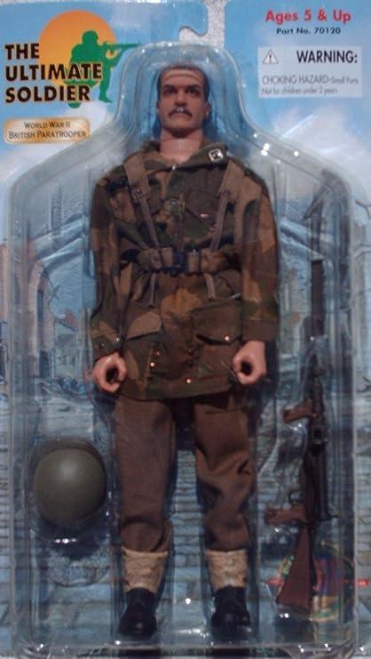 Amazon Com 1 6 Scale Wwii World War 2 British Paratrooper 12