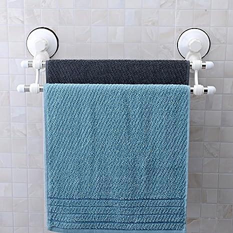 arricastle 4 barra toallero con ventosa, acero inoxidable Swing toalla rack Hanger Holder Organizar para baño y cocina: Amazon.es: Hogar