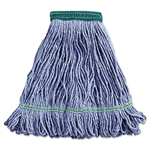 Boardwalk 502BLEA Super Loop Wet Mop Head, Cotton/Synthetic, Medium Size, - Synthetic Head Mop
