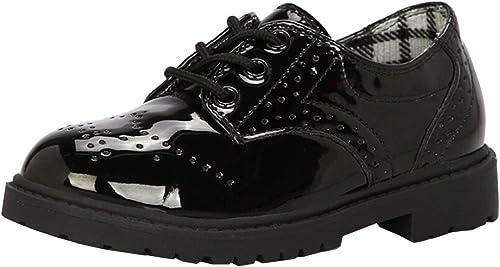 Amazon.com: DADAWEN Zapatos de vestir Oxford para niños y ...