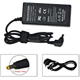 Sunyear 19V 3.42A 65W Laptop Notebook Chargeur AC Adapter pour ACER Aspire V5 V3 E1 Series E1-531G v5-573g V3-772G S3-391 S3-951 V3-571G V3-771G V5-E1-570 E1-571G V3-571G 4551 7741g avec Câble de Charge