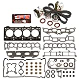 Evergreen HSTBK5020 Head Gasket Set Timing Belt Kit 95-99 Dodge Eagle Mitsubishi 2.0 DOHC 420A