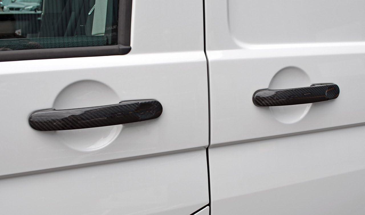 2016+ . Garniture de poign/ée de porte en fibre de carbone pour Transporter T6