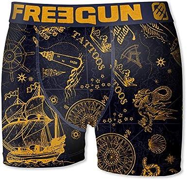 FREEGUN Boxer Gar/çon Marine