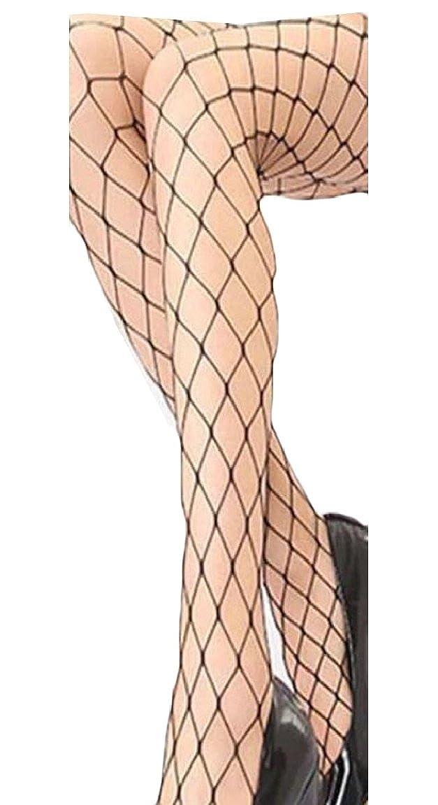 pujingge-CA Womens Tights Fishnet Stockings High Socks Pantyhose