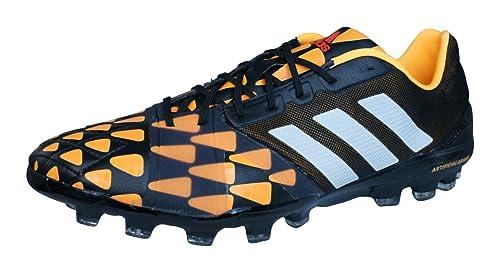 size 40 1d972 8fd8c adidas Nitrocharge 1.0 AG Botas de fútbol para hombre-Black-40.5