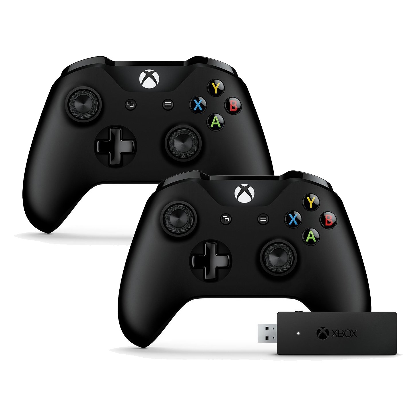 Amazon 2 Pack Microsoft Xbox e Controller and Wireless Adapter for Windows CWT Electronics