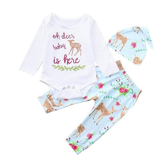 K-youth Conjuntos Bebe Otoño Invierno Ceremonia Bodies Bebe Manga Larga Ropa Bebe Recien Nacido Niña Monos Mameluco Camiseta Alpaca Body Tops + Pantalones + ...