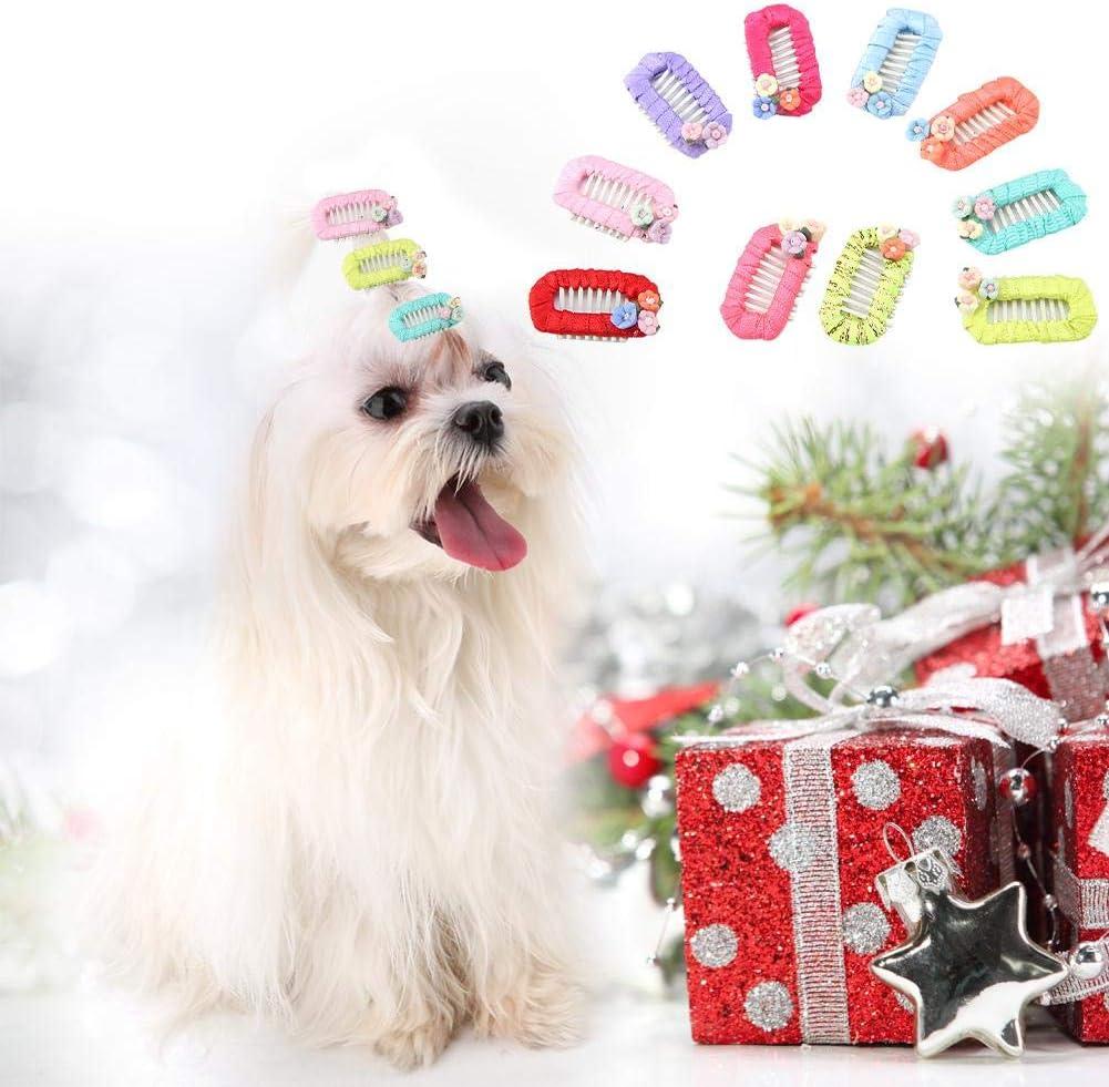 Surtido De Accesorios De Moda Perros Gatos Aseo para Mascotas Arcos Animal Banda de Goma Reino Unido
