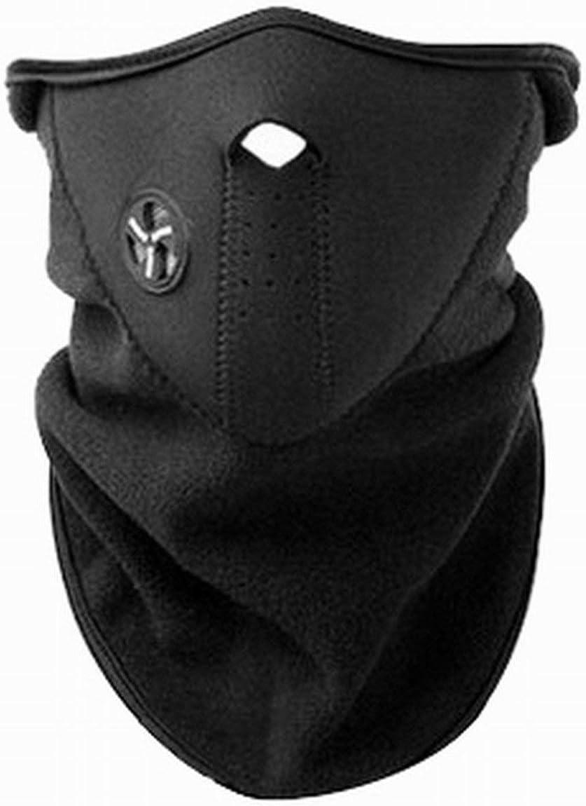 Fleece Face Mask for Snood Ciclismo Senderismo Mascarilla Facial Esquí Nieve Snowboard Calentador de Cuello Al Aire Libre Wind Stopper Pañuelo para el Cuello Sombrero Deportivo Sombreros