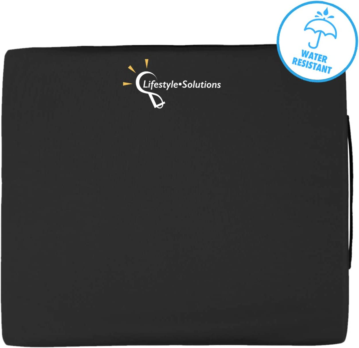 Wheelchair Seat Cushion, Orthopedic Liquid Gel Seat Pad for Coccyx, Sciatica, Pressure Sores and Tailbone Pain Relief