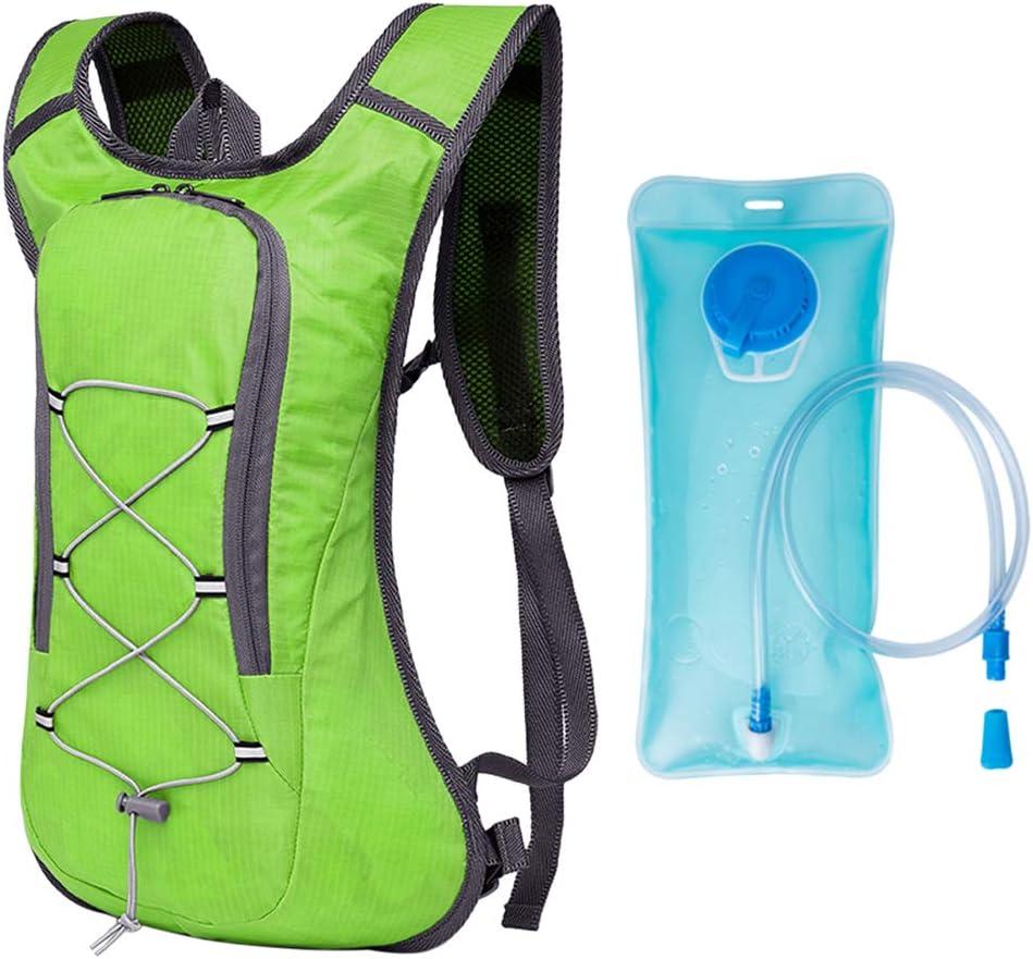 Irfora Mochila de hidrataci/ón con 2L Bolsa de Agua,Mochila de Bicicleta Ultraligera Transpirable,para Bicicleta Ciclismo Senderismo Excursionismo