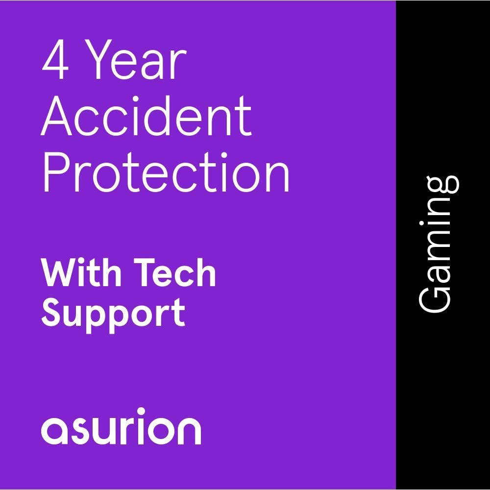 ASURION 4 Year Gaming Protection Plan with Tech Support $450-499.99