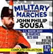"Military Marches - Complete Collection Vol. 1 - John Philip Sousa - 2 CD - 35 Marches 1873-1889 - U.S. Marine Band - Digital Recordings from ""The President's Own"" United States Marine Band John Philip Sousa"