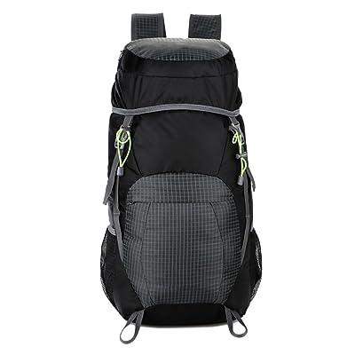 JYMDH 35L sac à dos pliable en nylon imperméable pour Voyage Packpackable Daypack pour la randonnée Camping Sports léger sac à bandoulière HC