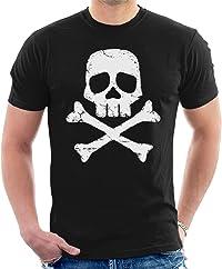 t-shirt tête de mort pirate 1