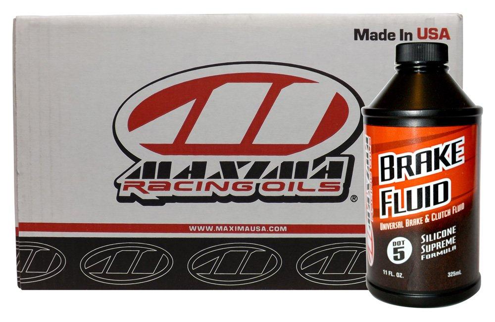 Maxima CS80-81911-12PK DOT-5 Supreme Silicone Brake Fluid - 11 oz., (Case of 12) by Maxima
