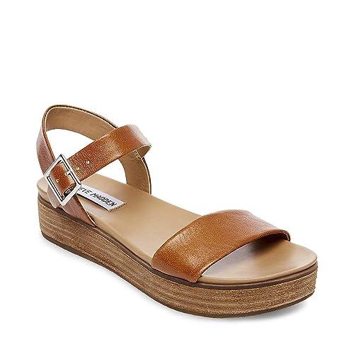 Aida Sandal Cognac Leather 5.5