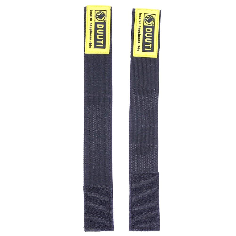 confezione da 2 pezzi fascia riflettente per ciclisti Broadroot da mettere sulla caviglia dei pantaloni