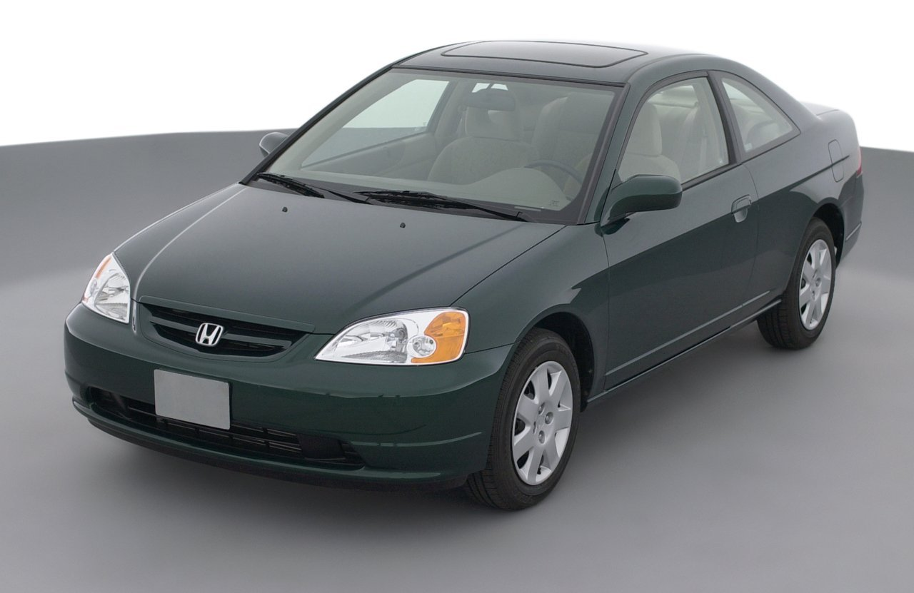 Attractive 2001 Honda Civic DX, 2 Door Coupe Automatic Transmission ...