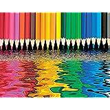 Springbok Pencil Pushers Jigsaw Puzzle, 500-Piece