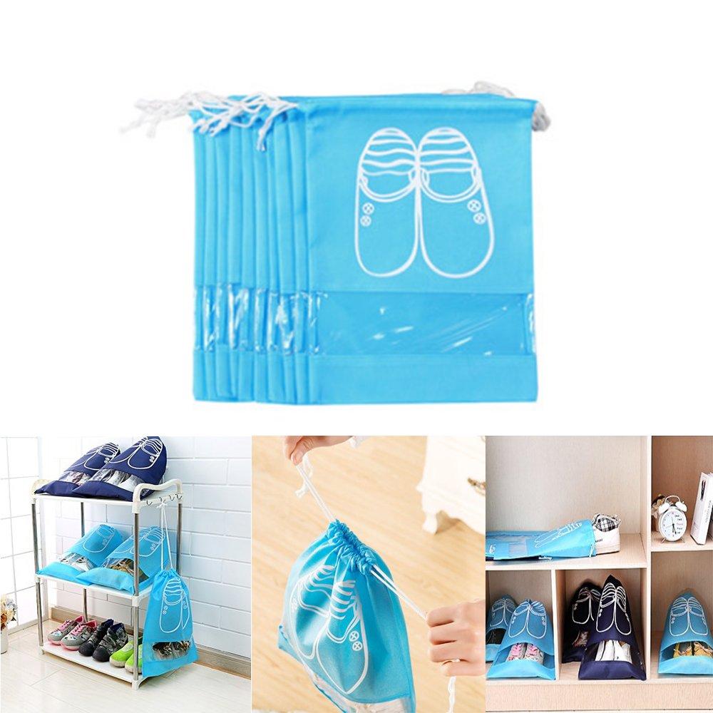 10pcs Travel Shoe Bags,