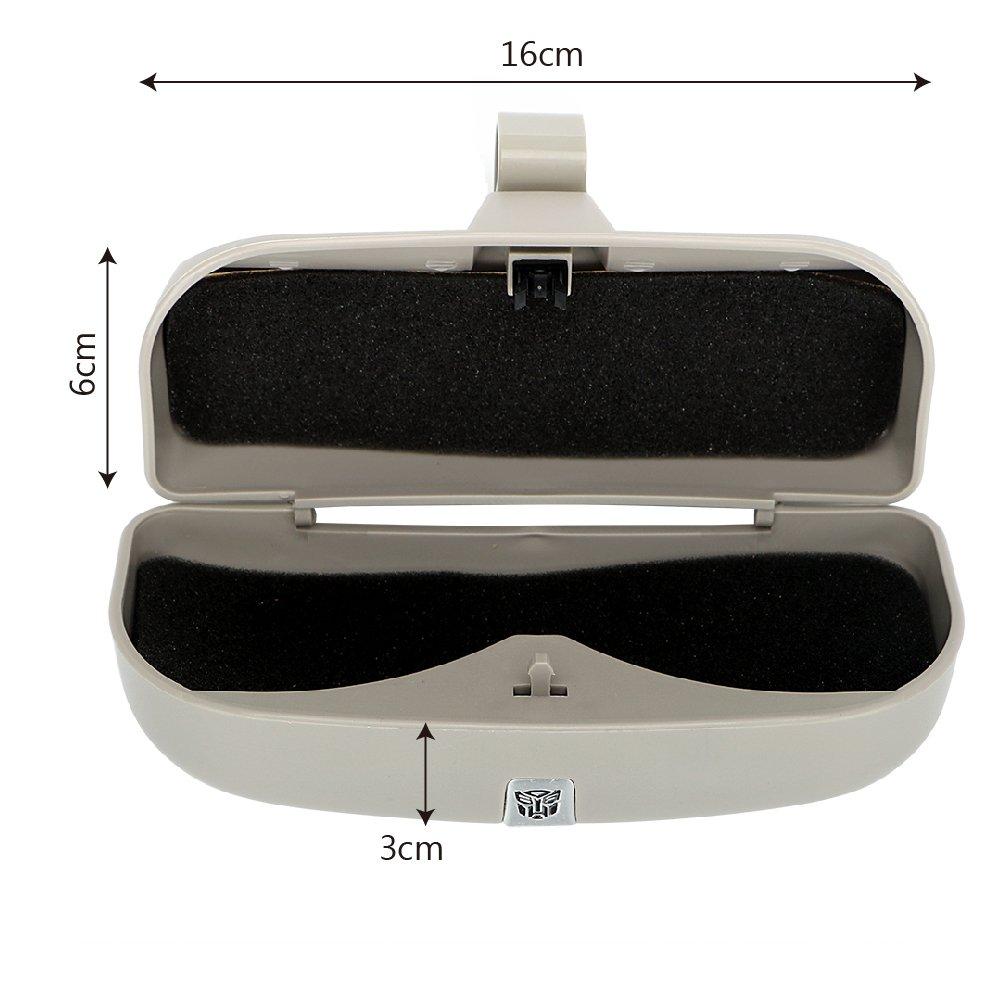 Holdream Auto Visier Clip Aufbewahrungsbox Sonnenbrille Fall Auto Styling Brillen-Halter
