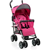 Baninni Poussette Canne Luca Rose Gris