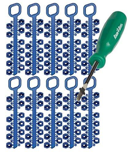 Rain Bird 5000 series rotor nozzles 10 PACK: 5000RCTREE 5000 5004 4252NZLPK, 42SA+, 52SA, 42SA Series Nozzle Trees bundle with ROTORTOOL ()