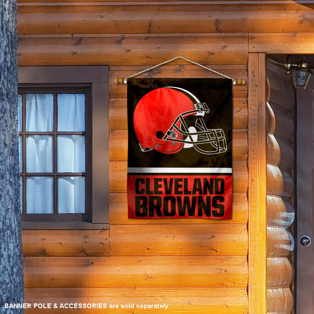 WinCraft Cleveland Browns Two Sided House Flag
