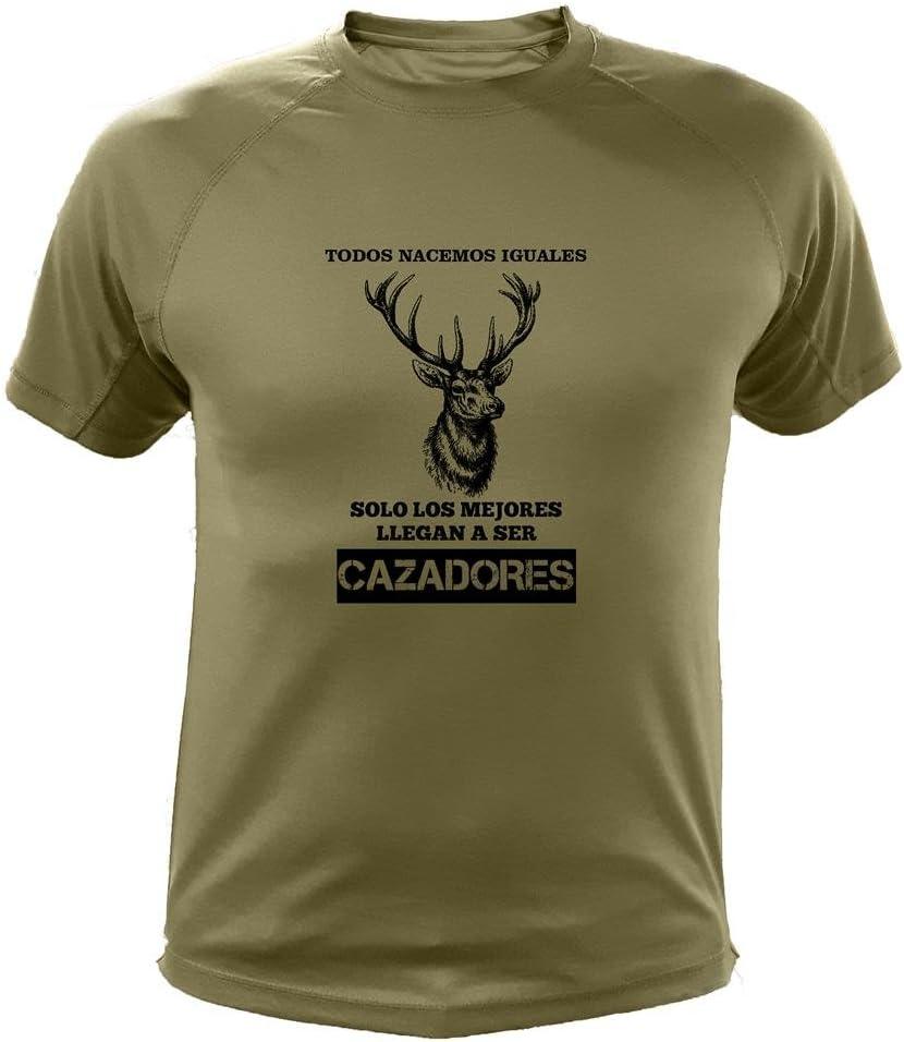 Camisetas Personalizadas de Caza Ciervo Todos nacemos Iguales Ideas Regalos