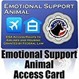 Emotional Support Animal ID Card - Protect Your Right to Have an ESA With You
